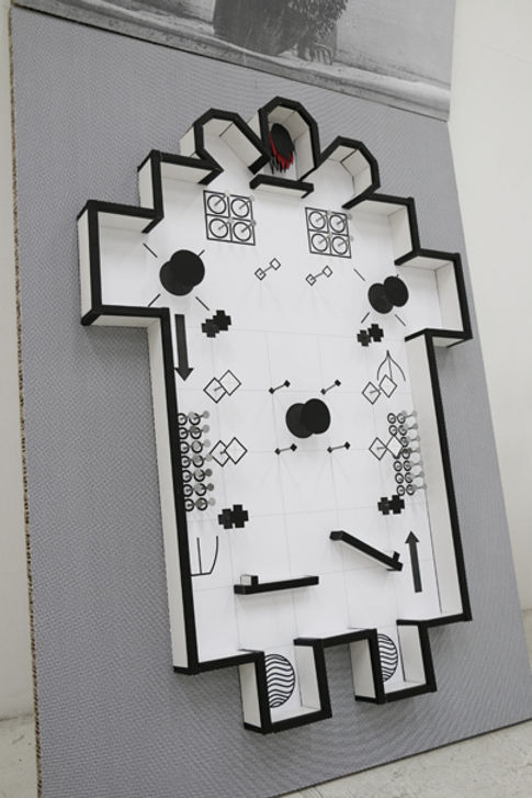 Tyler Mallison, Pinball Communion (Detail), 2014