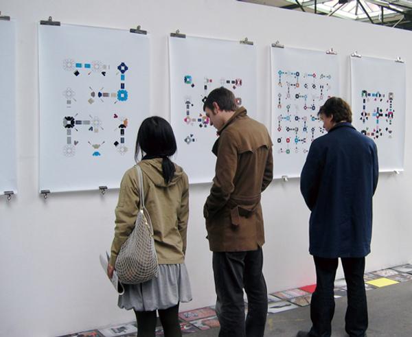 Tyler Mallison, Project Wardrobe: Exposing the Sequence, Gleisdreieck (Station) Berlin, Germany 2006