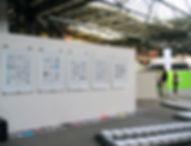 Tyler Mallison, Project Wardrobe: Exposing the Sequence & Raw Data, 2006, Gleisdreieck (Station), Berlin, Berlin Biennale