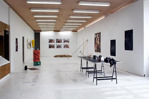 Chair Constructions by artist Tyler Mallison, Autocenter Contemporary Art Berlin, Germany, 2014