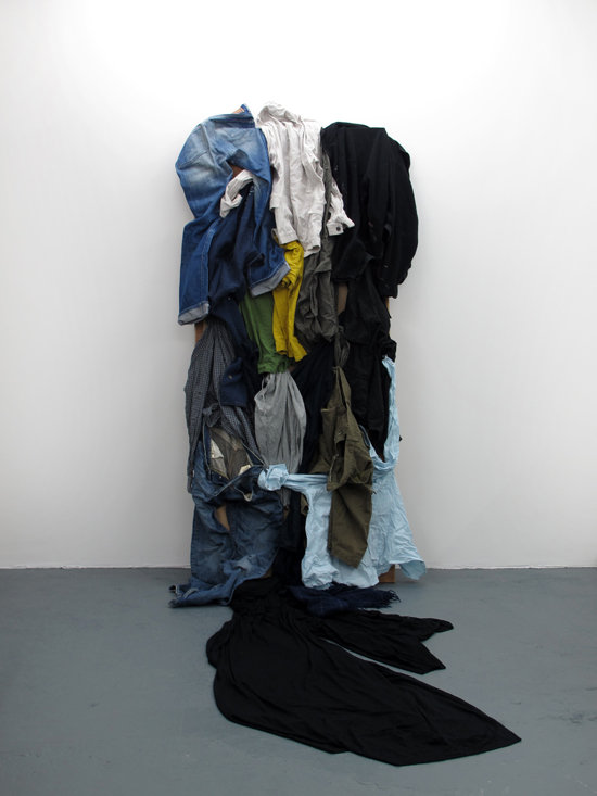 Tyler Mallison: Don't Touch When Wet (2013-14), Installation painting