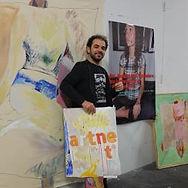 Celeste Prize selector Artist Pedro Velez