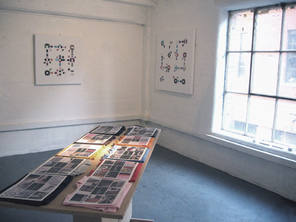 Tyler Mallison, Project Wardrobe: Exposing the Sequence, Installation Detail, Oxo Tower Bargehouse, London 2005