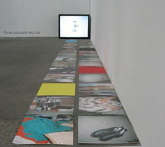 Tyler Mallison, Project Wardrobe, Exposing the Sequence, 2006, Gleisdreieck Berlin
