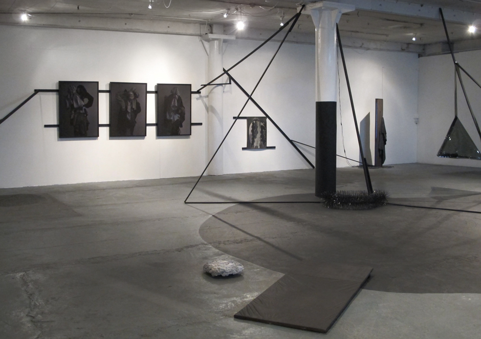Tyler Mallison, Dead to Me: Installation View: 'Stars in My Eyes', Schwartz Gallery, 2013