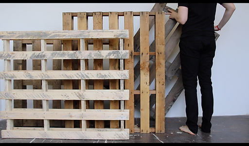 Progression Performance, 2015 by artist Tyler Mallison, Video Still