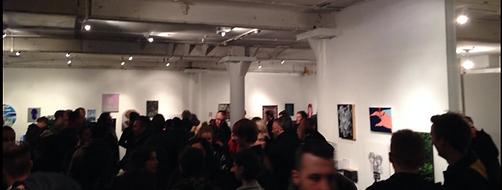 Artist Tyler Mallison at Pop Living, Schwartz Gallery London, UK, 2015