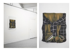 Untitled (Shirt paintings), 2014-15