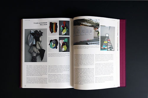 Article in Class of Its Own (COIO 5), featurinig artist Tyler Mallison, Basel, Switzerland; image of 'Shadow of my Former Self' and 'Don't Touch When Wet' by Tyler Mallison