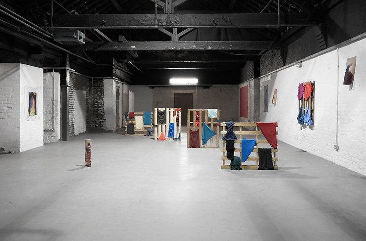 Prime Arcadia by artist Tyler Mallison, 2014-15, AWOL Studios Manchester, UK