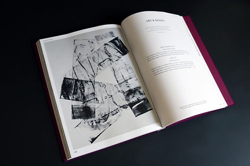 Article in Class of Its Own (COIO), artist Tyler Mallison, Basel, Switzerland; image of Vague Impressions by Tyler Mallison