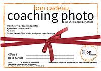 Bon cadeau cours photo Dijon 3h avec www