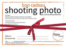 Bon cadeau shooting photo Dijon 1h avec