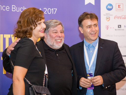 Meet&Greet Steve Wozniak at IAA Global Conferece 2017