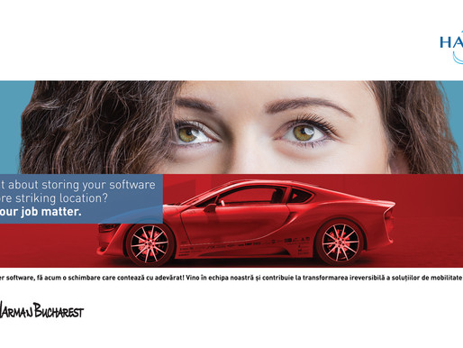 #JOINHARMANBUCHAREST – Employer branding campaign