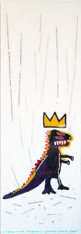 Trace of Sans-Hommage to Basquiat