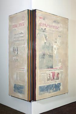 Trace of Sans, 162x60cm, 162x90cm, Acryl