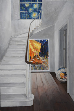 Convex Memory-Hommage to Gogh, 12M, Acry