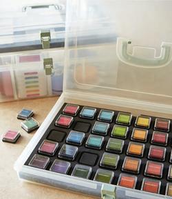 stamp pad organizer