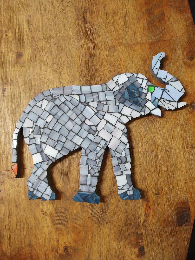 Evin's AWESOME elephant!