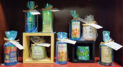 Recycled Bottle Soy Candles