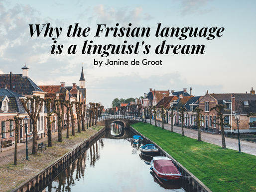 Why the Frisian language is a linguist's dream