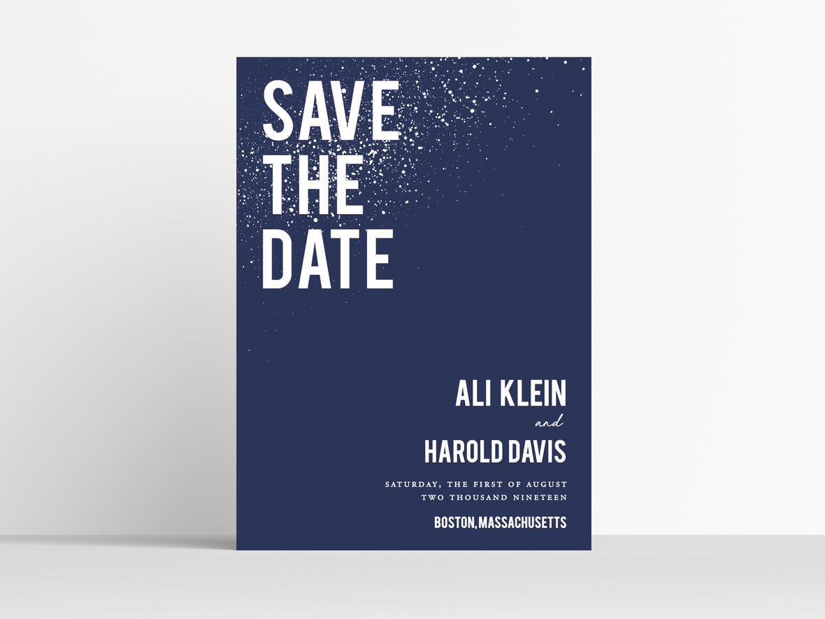 Save the Date