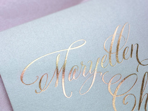 Different Wedding Invitation Printing Techniques