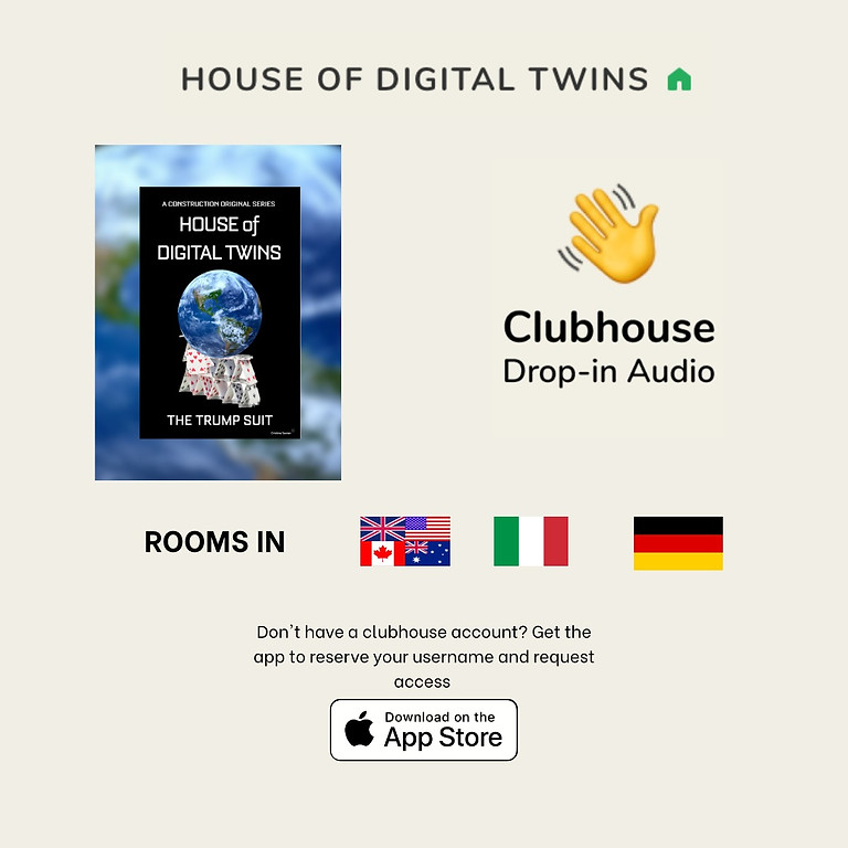 House of Digital Twins Club on ClubHouse