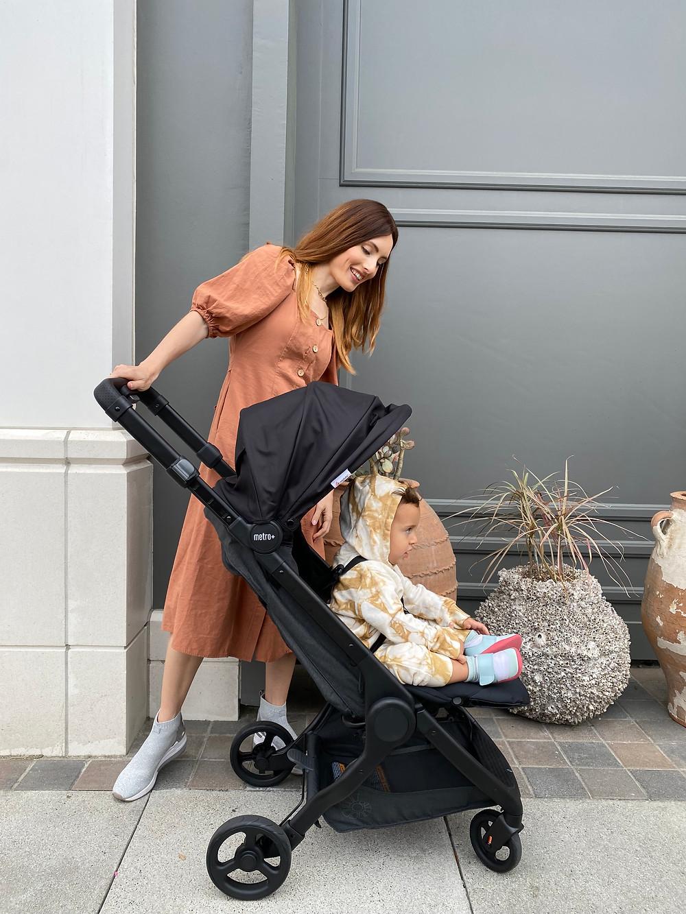 Lightweight compact Ergobaby travel stroller
