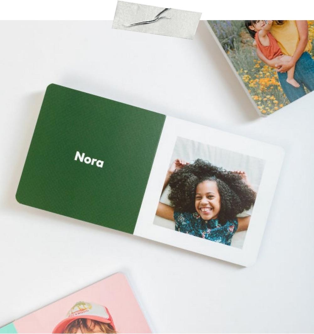 Custom Photo Baby Board Book