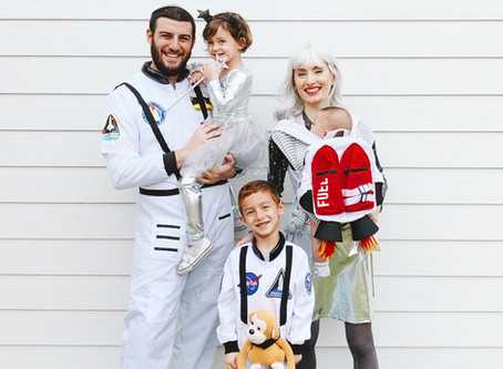 A Space Theme for Purim