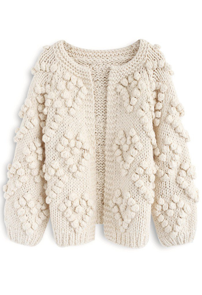 Chunky knit sweater valentines gift idea