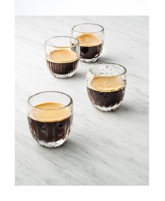Espresso glasses