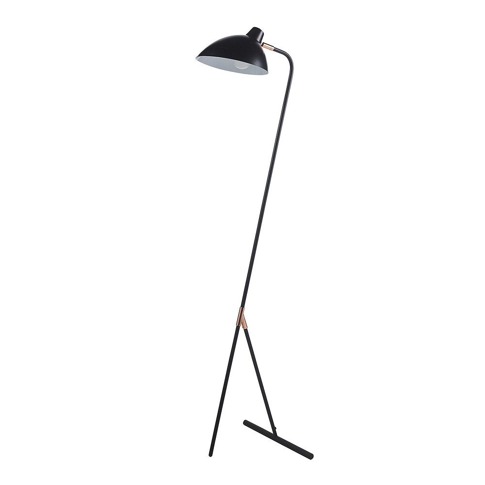 Mod floor lamp eclectic office