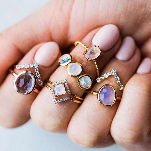 Jewelry rings valentines gift idea