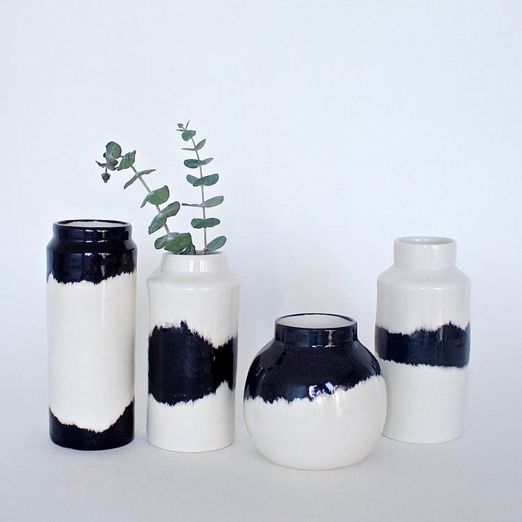 Handmade pottery vase valentines gift idea