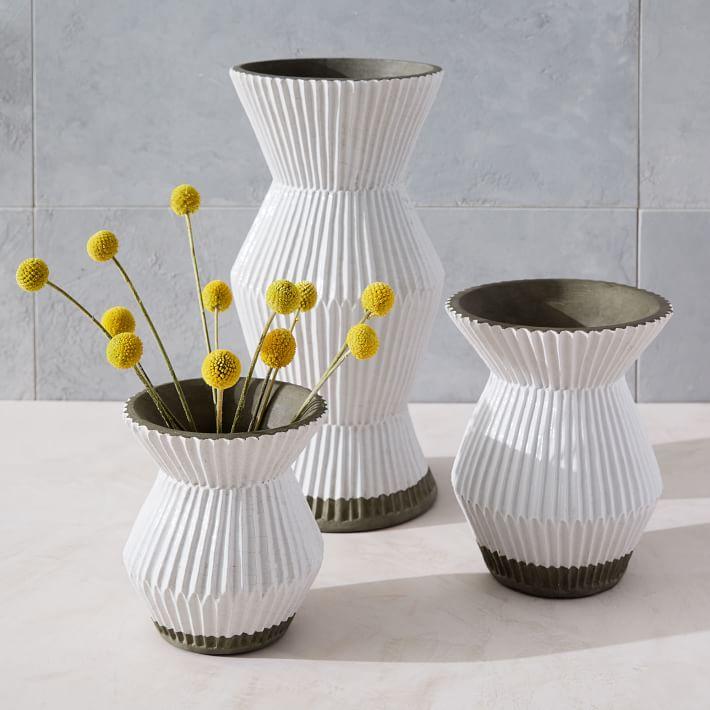 Accordion Vases