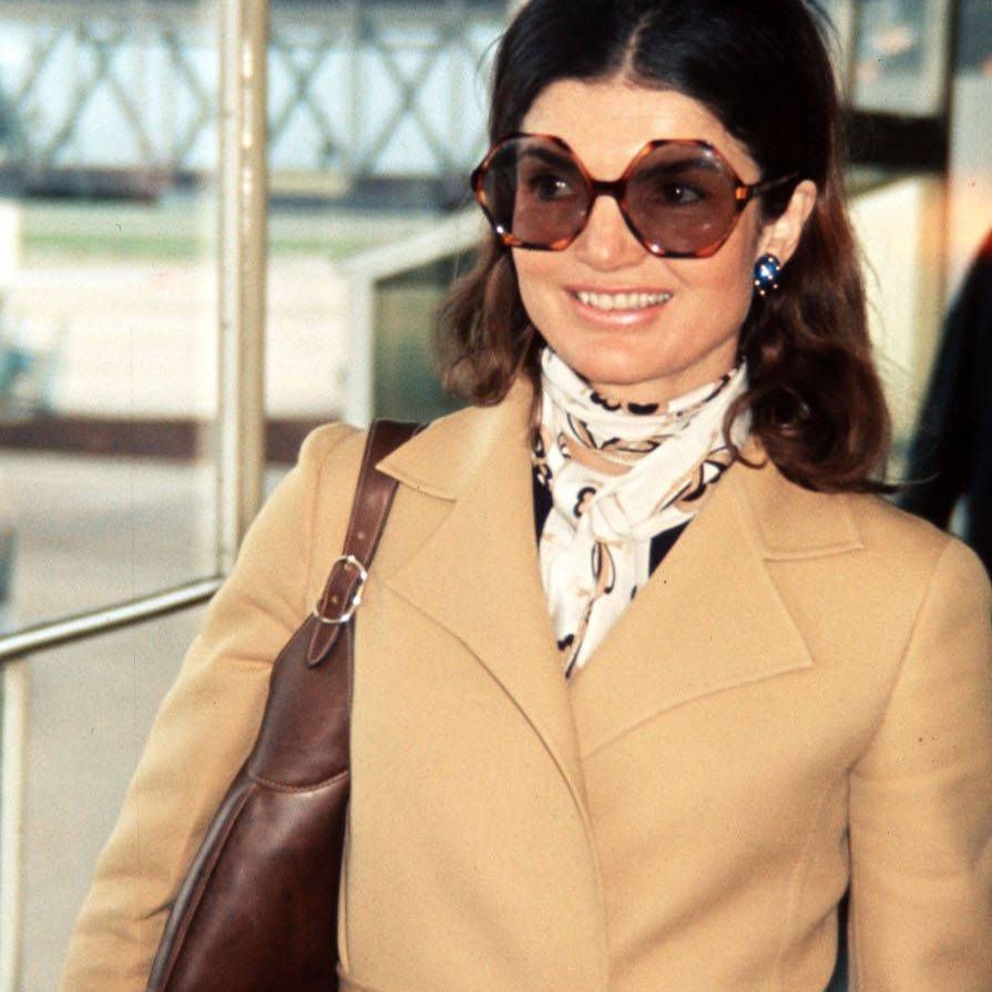 Jackie Kennedy tortoiseshell glasses