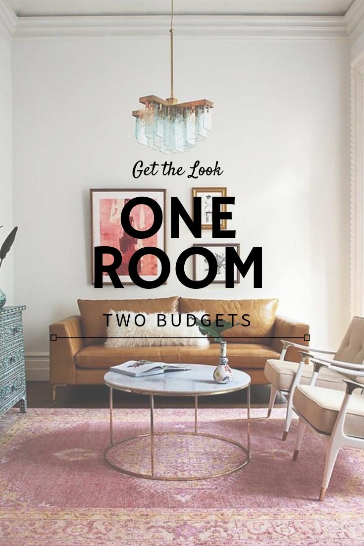Budget living room design