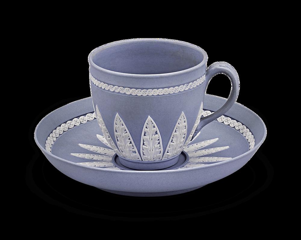 wedgwood jasperware teacup and saucer