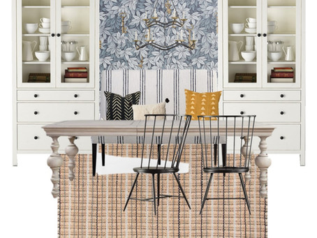 GET THE LOOK! DINING BANQUETTE
