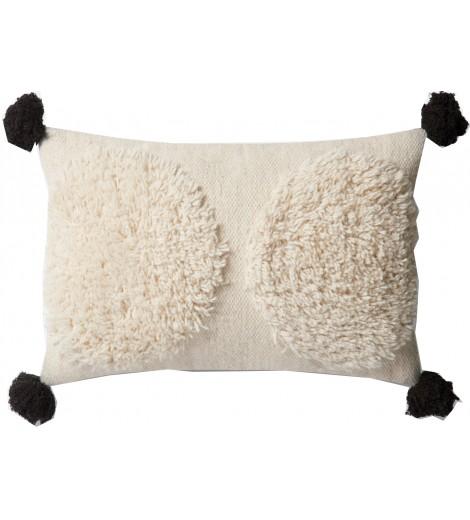 Pom Pouf Lumbar Pillow