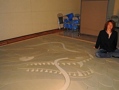 アート! ドラゴン畳