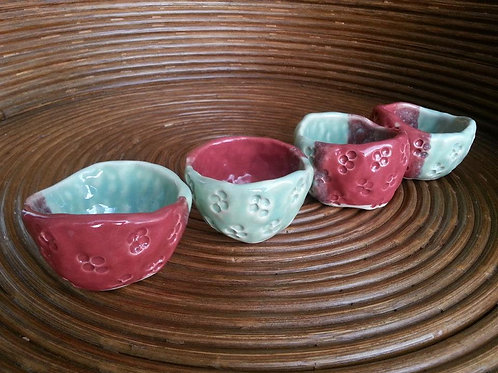 Tasty Tea Cups (in sets of 4)