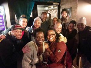 GLH en sortie dans Paris avec qelques membres du SOWETO CHOIR en 2018