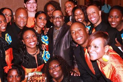 Kurt CARR 2012 Nous etions déja tous ensemble au Gospel Music Workshop of America!