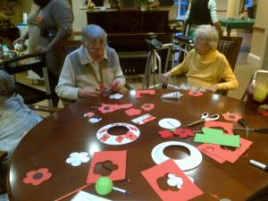 Remembrance Day Wreath Making