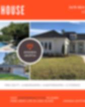 Orange Just Sold Real Estate Postcard.pn