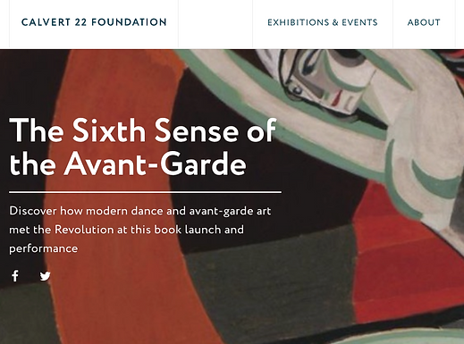 Duncan Dance Project at Calvert 22 Gallery, London